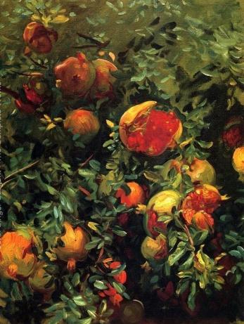 Pomegranates by John Singer Sargent